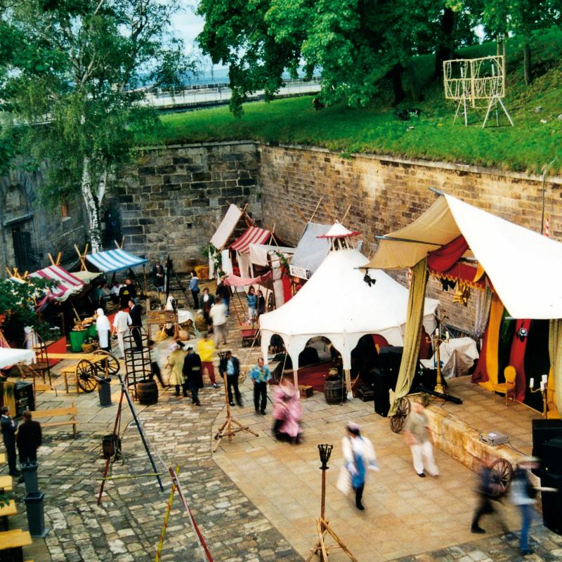 Gestalten Sie Beeindruckende Kitchenes Historischen Charme: Festung Königstein